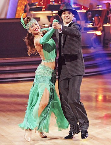 Karina Smirnoff Reunites With Dancing With the Stars Partner Ralph Macchio for New Movie