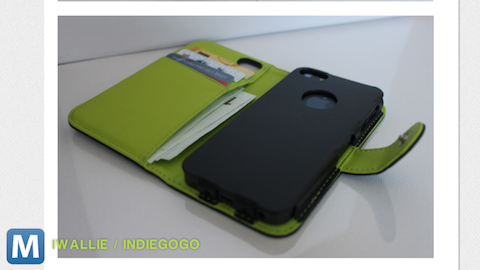 Custom-made iPhone Folio Folds Your iPhone and Wallet Together