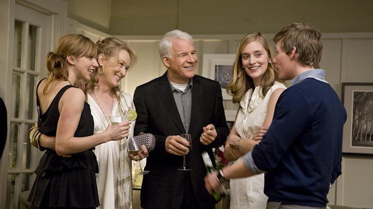 It's Complicated Production Photos 2009 Unviersal Pictures Meryl Streep Steve martin Hunter Parrish