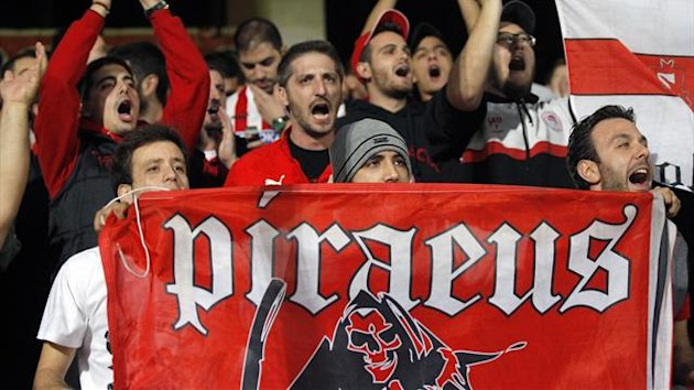 Supporters of Olympiacos