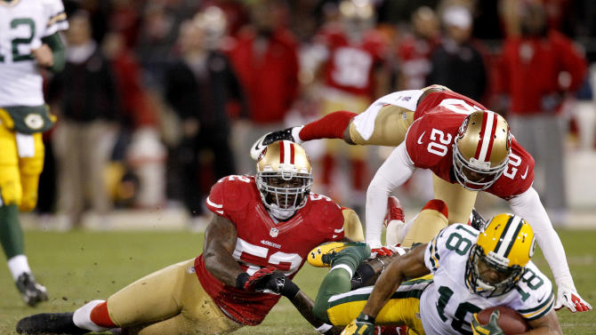 NFL: NFC Divisional Round-Green Bay Packers at San Francisco 49ers