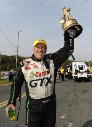 John Force wins again, pads Funny Car points lead