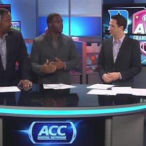 Clinton Portis and Renaldo Wynn Break Down the 2013 ACC Championship Game
