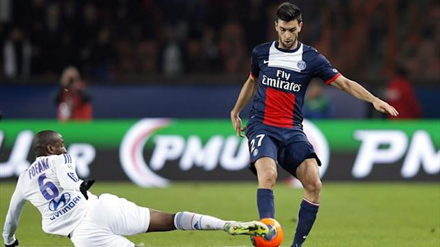 Paris St Germain's Javier Pastore (Reuters)