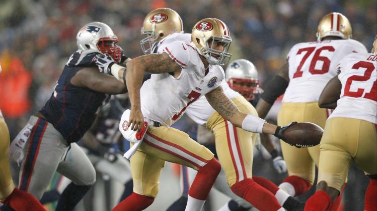 NFL: San Francisco 49ers at New England Patriots