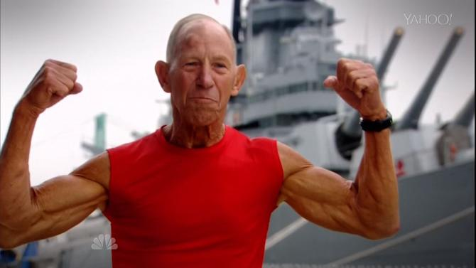 72 Year Old Veteran Becomes Oldest Competitor on 'American Ninja Warrior'