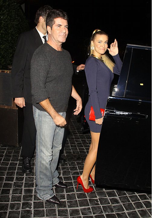 Simon Cowell, Carmen Electra