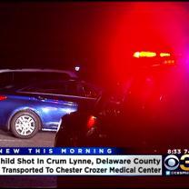 2 People, Including Child, Shot In Delaware County