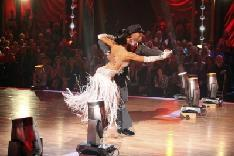 J.R. Martinez and Karina Smirnoff perform during Week 6 of 'Dancing with the Stars,' Season 13, Oct. 25, 2011 -- ABC
