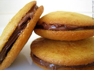 Nutella Graham Cracker Whoopie Pies