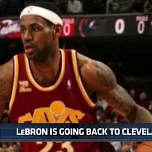 LeBron returns to Cleveland