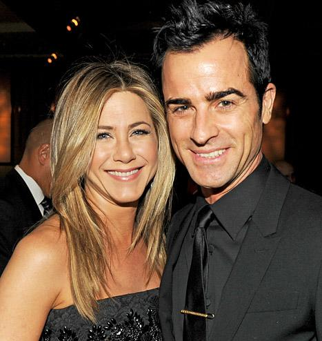 "Justin Theroux: ""I'm the Luckiest Guy in the World!"""