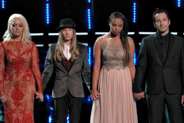 'Voice' Crowns Winner, But Christina Aguilera's Miley, Britney and Cher Impersonations Take the Prize (Video)