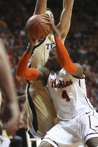 Holsey, Georgia Tech defeat Virginia Tech 64-54