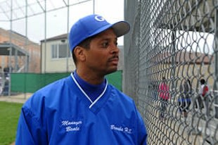 Brooks College Prep assistant baseball coach Anthony Beale — Chicago Sun Times