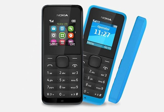 Aimed at developing economies and users in remote villages, the Nokia 105 will cost £13 and contain potentially life-saving features including a torch and FM radio.