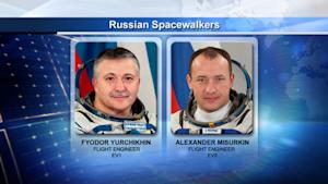 Russian Cosmonauts Begin Spacewalk Outside Space Station