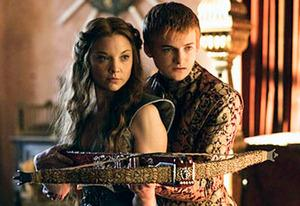 Natalie Dormer and Jack Gleeson | Photo Credits: Helen Sloan/HBO