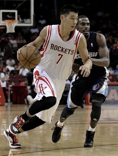 Rockets upend Grizzlies 109-102