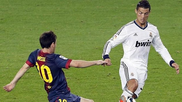 2012/2013: FC Barcelona (Lionel Messi) gegen Real Madrid (Cristiano Ronaldo)