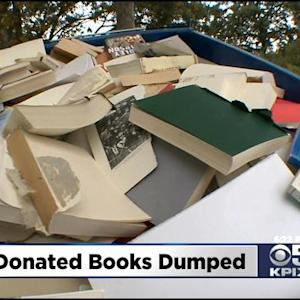Clayton Library Puts Thousands Of Unsold Books Into Recycling