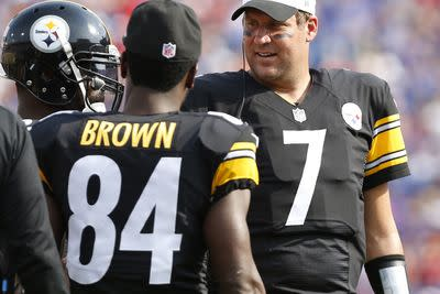 Antonio Brown, Steelers, more comfortable with Michael Vick, fantasy potential remains high