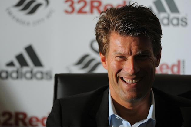 Michael Laudrup took the Swansea job following Brendan Rodgers' departure for Liverpool
