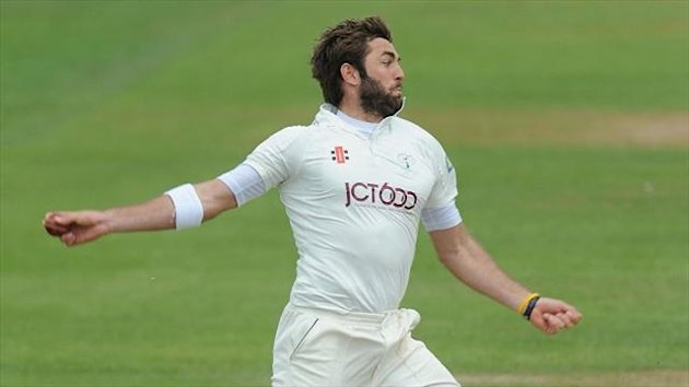 Yorkshire's Liam Plunkett claimed five of Warwickshire's first-innings wickets