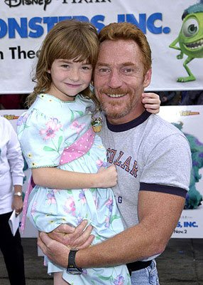 Danny Bonaduce and daughter at the Hollywood premiere of Monsters, Inc.