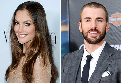 Chris Evans, Minka Kelly Dating Again!