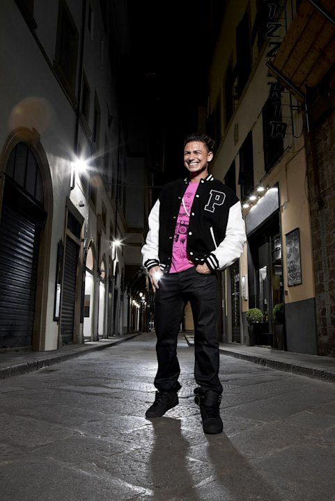 "Paul ""DJ Pauly D"" DelVecchio in Italy for Season 4 of ""Jersey Shore."""