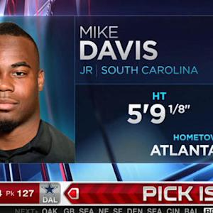 San Francisco 49ers pick running back Mike Davis No. 126 in 2015 NFL Draft