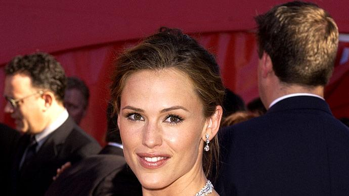 Jennifer Garner at The 54th Annual Primetime Emmy Awards.