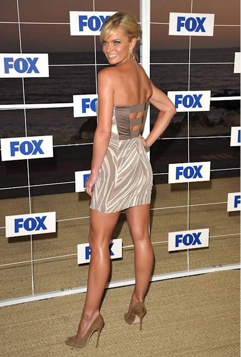Jaime Pressly attends the Fox All Star Party 2011 at Gladstone's Malibu on August 5, 2011 in Malibu, California.