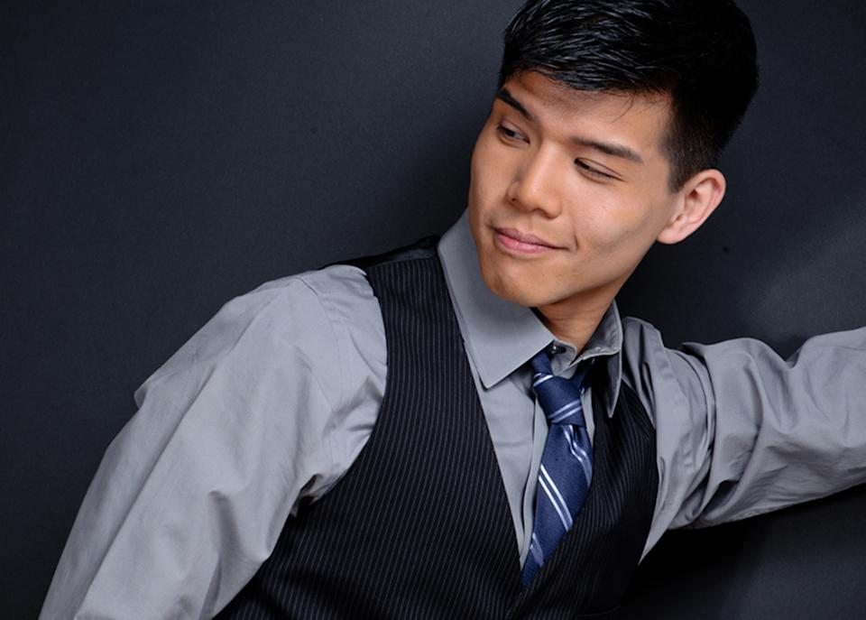 "This undated image released by Eve Reinhardt Photography shows actor-singer Telly Leung.  Leung released his debut solo CD, the 13-track ""I'll Cover You"" this month by Yellow Sound Label. (AP Photo/Eve Reinhardt Photography)"