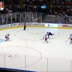 Henrik Lundqvist Save on Mikhail Grabovski (05:18/3rd)
