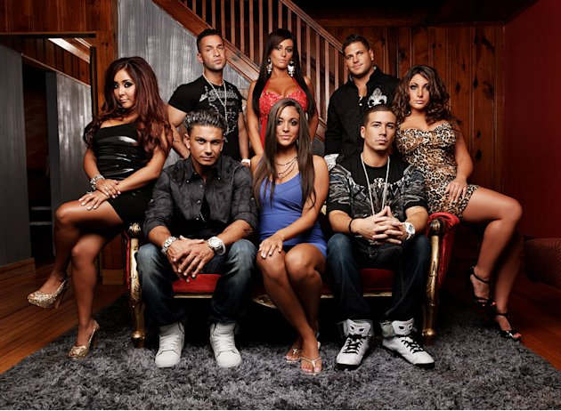 "The cast on Season 3 of ""Jersey Shore."""