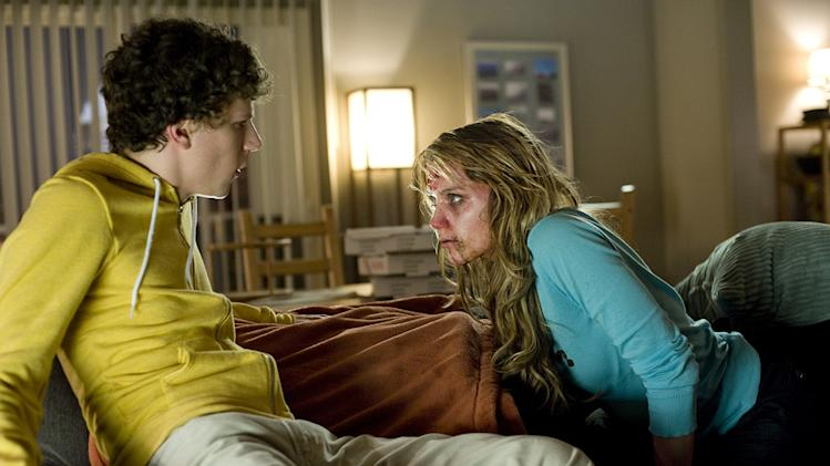 Zombieland Columbia Pictures Production Photos 2009 Jesse Eisenberg Amber Heard