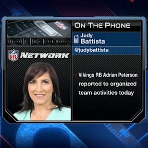 NFL Media's Judy Battista: There was no other place for Minnesota Vikings running back Adrian Peterson to go'
