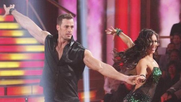 William Levy and Cheryl Burke perform the cha cha on 'Dancing with the Stars,' Season 14, opening night, March 19, 2012 -- ABC