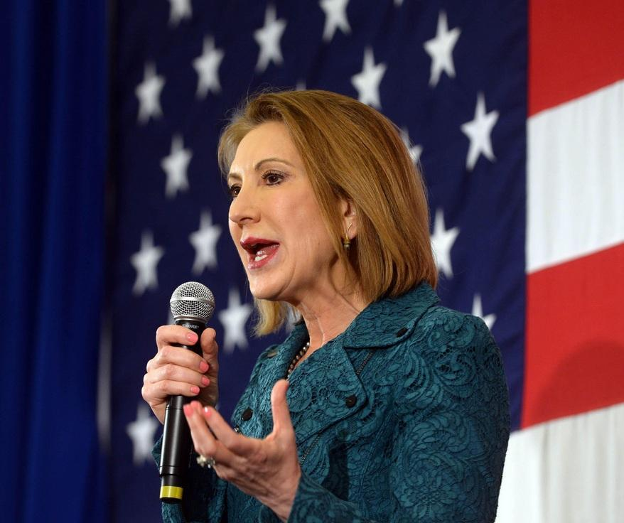 Carly Fiorina doesn't register own domain, which is a problem