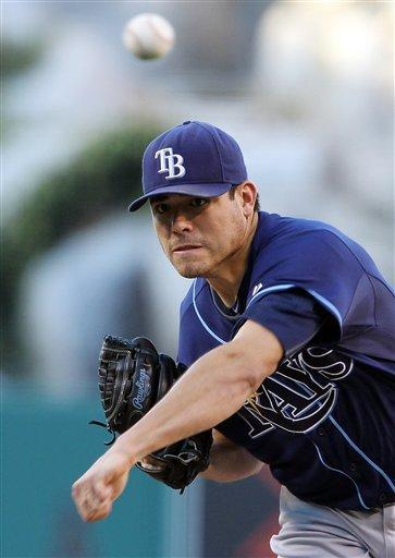 Matt Moore stifles Angels in Rays' 3-0 win