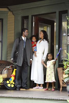 Chris Rock and Gina Torres in Fox Searchlight's I Think I Love My Wife