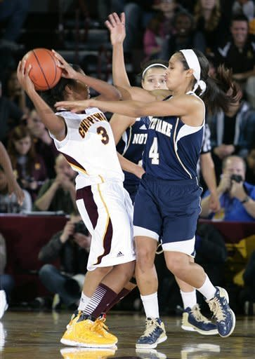 Diggins leads No. 5 Irish women past Central Mich