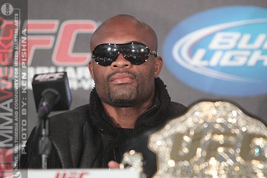 Report: Anderson Silva Fined $50,000 For Skipping UFC 162 Media Obligations