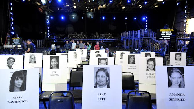 IMAGE DISTRIBUTED FOR MTV - A general view of seating during the MTV Movie Awards Press Day at Sony Studios on Thursday, April 11, 2013, in Culver City, Calif. (Photo by John Shearer/Invision for MTV Networks/AP Images)