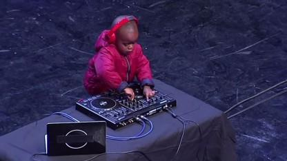 Watch This Adorable 3-Year-Old DJ Bring the Noise During TV Audition