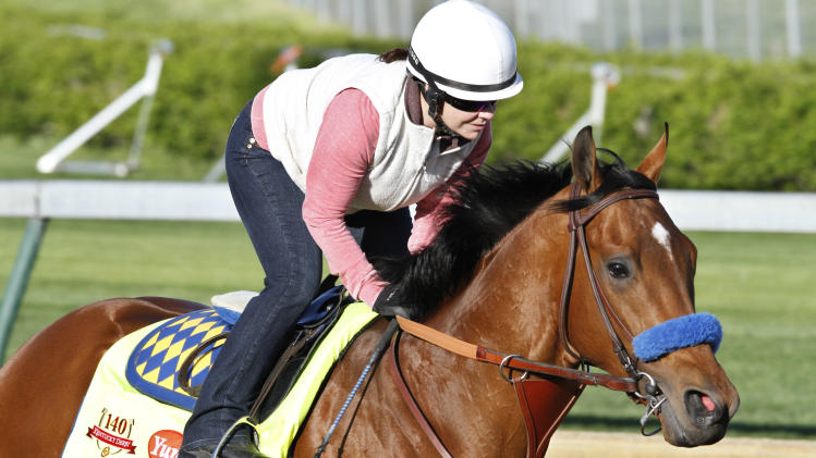 Hoppertunity out of Kentucky Derby with sore foot