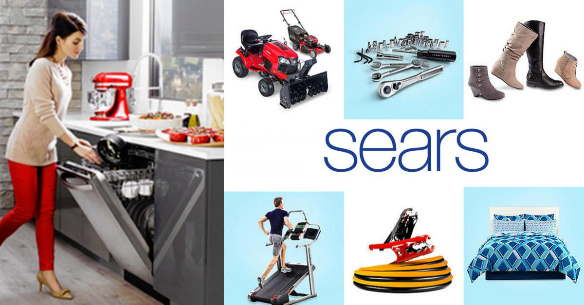 Over 100 Million Items to Choose From at Sears