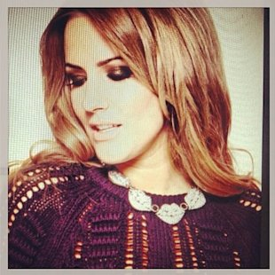 Caroline Flack has been showing off new snaps from a photo shoot